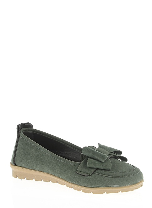 Bambi Loafer Ayakkabı Yeşil
